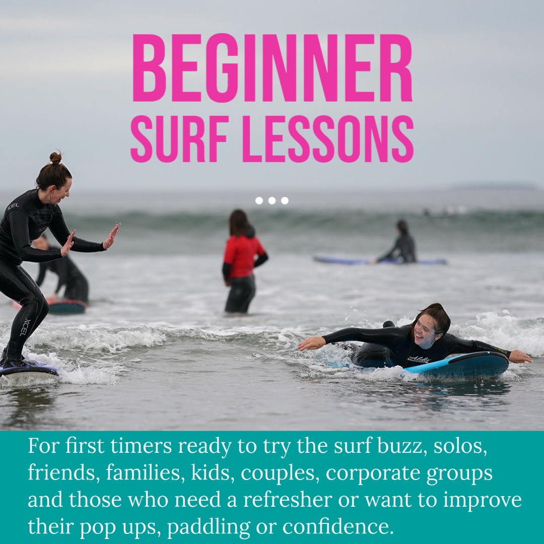 beginner surf lessons strandhill
