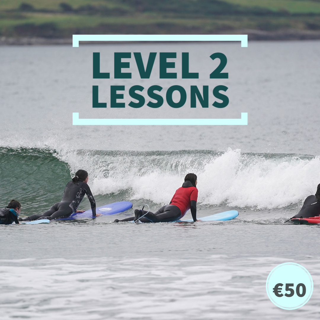 level 2 surf lessons