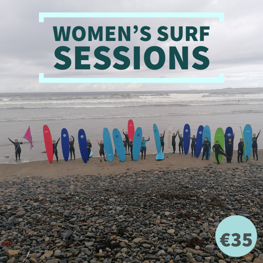 women's surf sessions strandhill