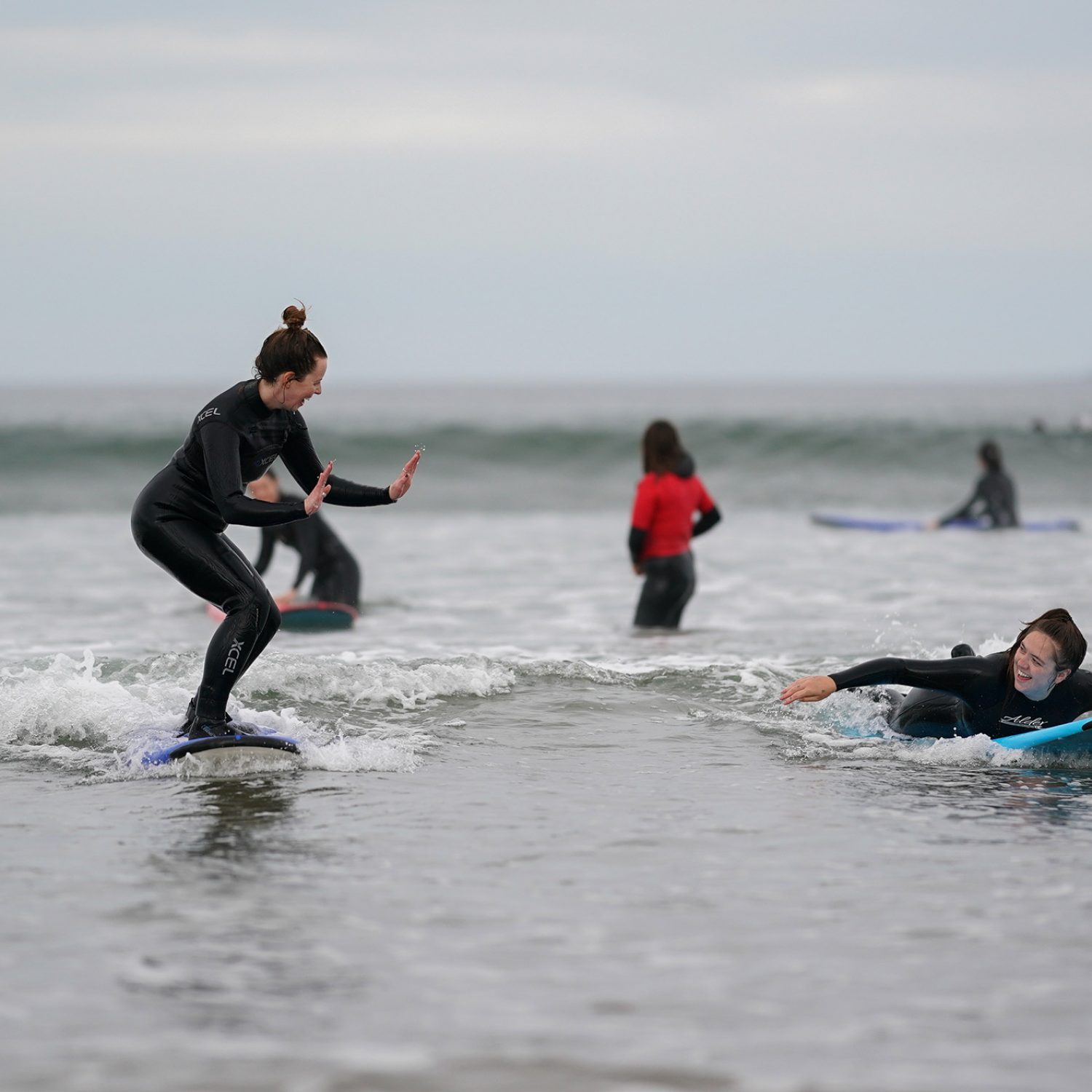 Surf lessons in strandhill