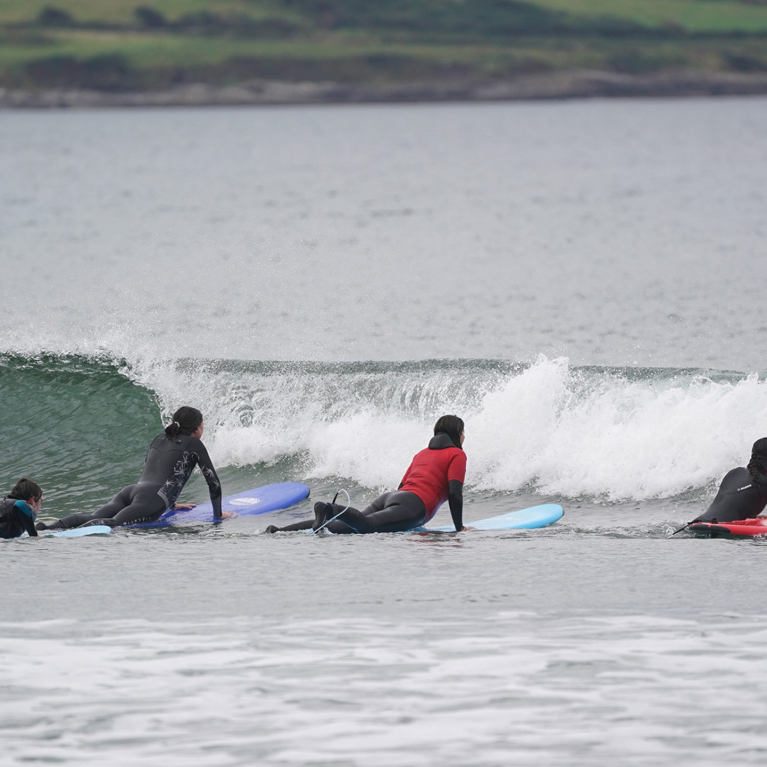 Surf lesson in strandhill